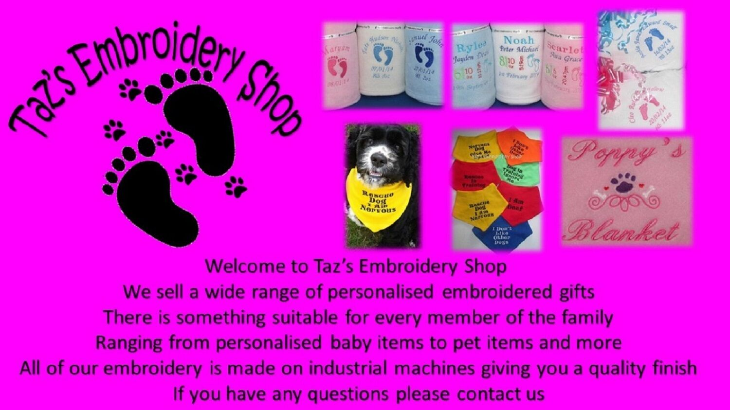 Taz s Embroidery Shop