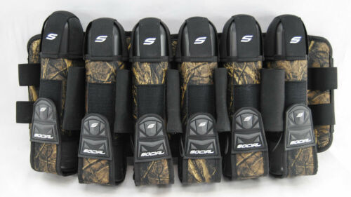 Social Paintball Grit Pack Pod Tournament Harness 6+9 - Hunter Camo - NEW