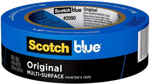 ScotchBlue Original Multi-Surface Painter's Tape,  1.88 inch x 60 yard, 1 Roll