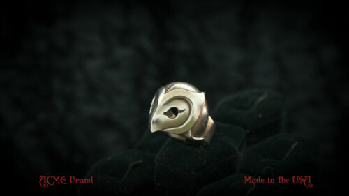 Phantom of the Paradise .925 Silver Helmet mask Ring by ACME Brand skull death