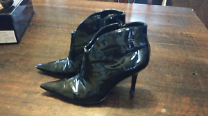 Patent Leather Ankle Boots Shoes Owen Wakefield Area Preview