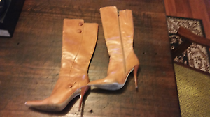 Size 6 High Heel Knee High Boots Owen Wakefield Area Preview