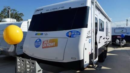 2015 Jayco Silverline Caravan 23.72-1 Outback