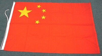 """NICE!  Maritime Flag of China    38""""  by 60""""  Quality Heavy Cloth!"""