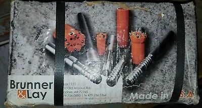 Brunner Lay 2 Std. Rock Drilling Bit. Part No. T2010mo