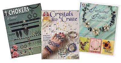 54 DIY Jewelry Techniques Books by Design Originals Chokers Bracelets Necklaces