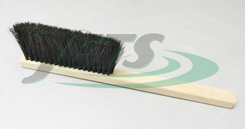 """Jewelers Bench Brush Duster Soft Bristle Wood Handle 9-3/4"""" for Metal & Dust USA"""
