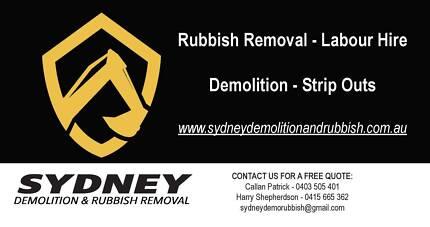 Sydney Demolition and Rubbish Removal