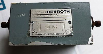 Rexroth Hydraulic Valve 5645221 M52 Z2fsk 10-2-102qv Used Take-out