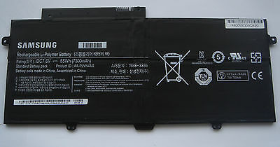 SAMSUNG ORIGINAL Battery AA-PLVN4AR ATIV Book 9 Plus NP940X3G-K01NL NEW