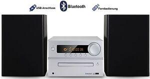 Kompaktanlage Stereoanlage Multimedia Design Mini HiFi Musikanlage BLUETOOTH NEU