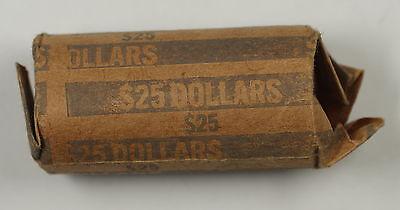 2008-P BU ROLL OF 25 MARTIN VAN BUREN PRESIDENTIAL $1 DOLLAR COINS