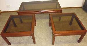 Set of 3 coffee / sidetables : Parker furniture Kaleen Belconnen Area Preview