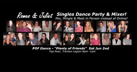 R&J's Singles Dance Party June 2nd! See dance pics!