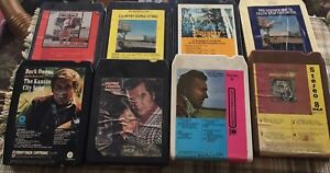 8 track tapes,$3.00 each