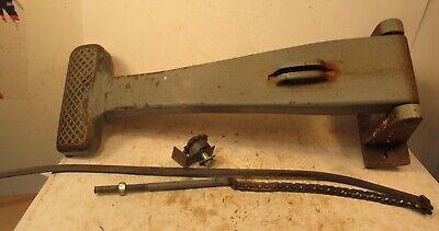 Davis Wells Horizontal Boring Machine Foot Pedal - Link With Chain Gear