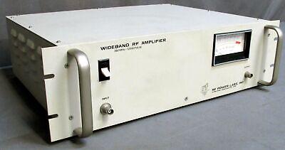 Rf Power Labs Model 300-100b 360mhz125w Pulse Wideband Rf Amplifier
