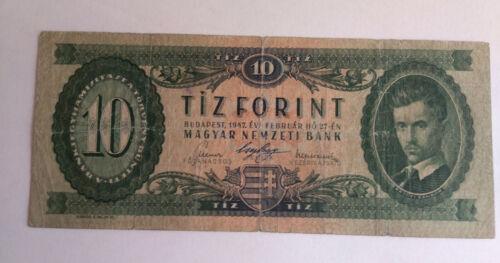Hungary 10 Forint 1947 F