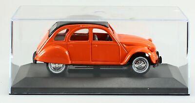 Miniature Citroën 2Cv Orange 1/32