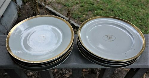 Set of  10 Qianlong Period, Chinese Export  Plates, 8 Inches, Good Condition!