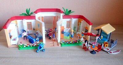 Playmobil Tropical Beach 5998 Hotel + Tiki Bar Playmobil Inn Urlaub Zubehör Set (Tiki Bar Zubehör)
