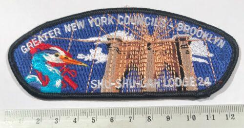 Greater New York Council Brooklyn SA20 CSP OA Lodge 24 Shu-Shu-Gah Scouts BSA