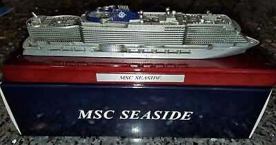 Msc Cruise Line Msc Seaside Cruise Metal Ship Model
