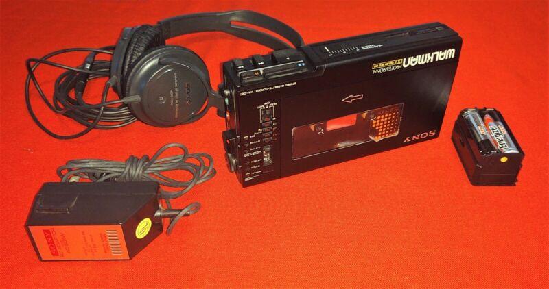 SONY Walkman Professional WM-D6C Stereo Cassette AS IS