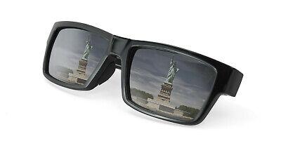 Premium Sunglasses w/ Hidden Spy Cam Video Camera Glasses - DARK Lens NEW (Sunglasses Hidden Camera)