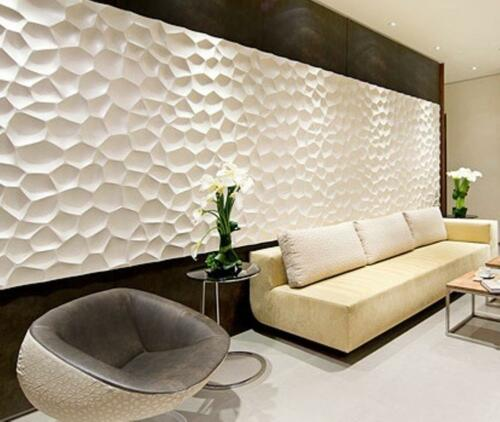 SHELL - Quality Plastic Press Mold making of 3d Panels Decor Wall from Gypsum