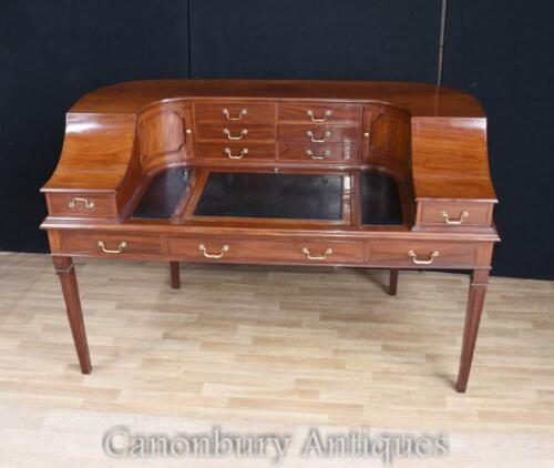 Regency Carlton House Desk Mahogany Writing Table