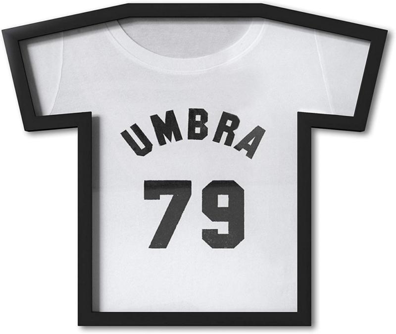 Umbra T-Frame Black T-Shirt Display Case, Small