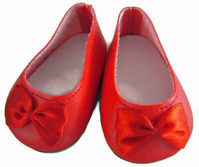 Red Ballet Flats For Girls (For 18