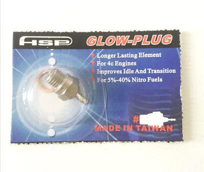 N3 Glow Plug #3 Spark VX SH Nitro Engine Parts Replace OS RC HSP 70117
