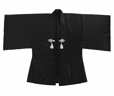 Japan Samurai Haori Kimono Jacke Yukata Cosplay Kostüm Happi Damen Herren M L XL
