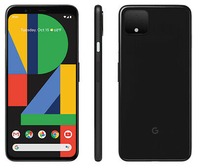 Google Pixel 4 XL - 64GB - Black Factory Unlocked 4G LTE Smartphone