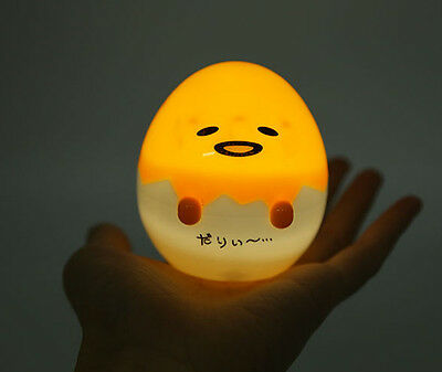 SANRIO Gudetama Lazy Egg 8CM mini lamp abs cute small night light