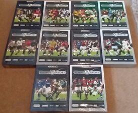 Premier League Classic Matches 10 sets, 50 DVD's