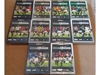 Premier League Classic Matches 10 sets, 50 DVD's