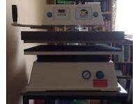 Heat press and vinyl cutter