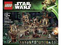 Lego EWOK VILLAGE 10236 - New and Sealed - Retired Set