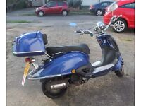 Direct Bikes Tommy 125cc Scooter 4 Spares or Repair Running, Just not wanted