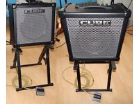 Roland 80GX Cube 80 watt Combo, includes: CC Foot-switch, Amp Stand, New cover, leads and manual,