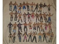 40 wrestling figures wwe