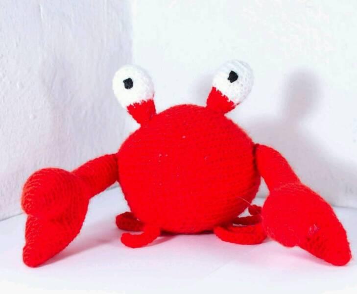 stofftier krabbe in nordrhein westfalen m nchengladbach kuscheltiere g nstig kaufen. Black Bedroom Furniture Sets. Home Design Ideas