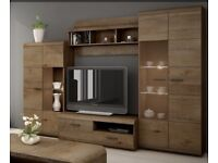 SLEEK & MODERN FURNITURE LIVING ROOM SET + TV UNIT