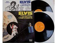 "ELVIS PRESLEY - ""ALOHA FROM HAWAII VIA SATELLITE"" - DOUBLE VINYL LP"