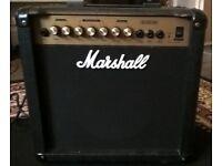 Marshall 45 watt guitar amp