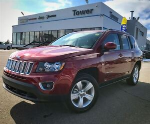 2015 Jeep Compass High Altitude- LEATHER HEATED SEATS, REMOTE ST