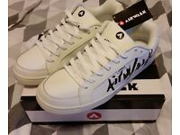 Airwalk mens trainers - white size 13